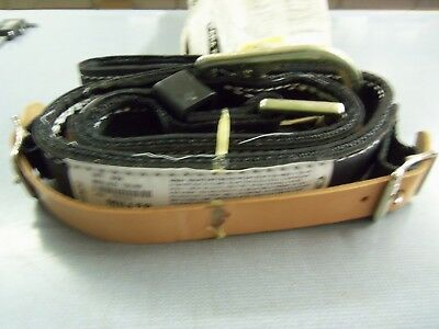 Miller By Honeywell Miners Safety Belt Double Strap 123nlmbk Nos Free Ship