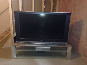 55 inch Sony Wega LCD HGTV & Matching Stand - Can Del Must Go