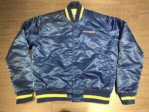 Vintage Starter Los Angeles Rams Satin Baseball Jacket