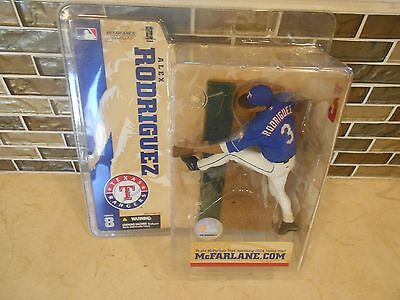 2004 MCFARLANE MLB SERIES 8 ALEX RODRIGUEZ TEXAS RANGERS FIGURE BRAND NEW