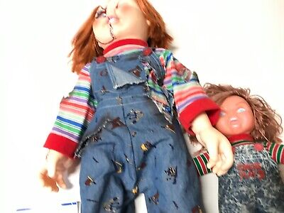 Vintage Large Standard Size Chucky Doll & Promotional 1991 Doll Child's Play 2 Large Play Doll