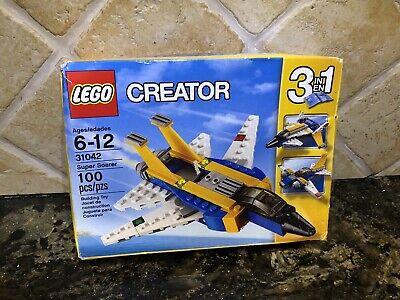 LEGO 31042 CREATOR 3 in 1 Super Soarer 100 pieces New in Box