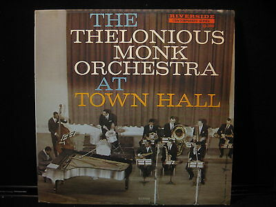 THE THELONIOUS MONK ORCHESTRA AT TOWN HALL RIVERSIDE (The Thelonious Monk Orchestra At Town Hall)