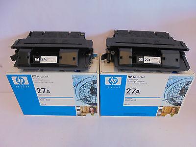 Zwei Laserjet (€ 42,50 ...ZWEI (!) HP C4127A  27A  Toner f. Laserjet 4000 4050 NEU & OVP )