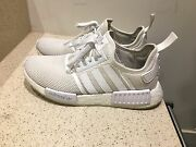 Adidas NMD Triple White Mesh US9 Caroline Springs Melton Area Preview