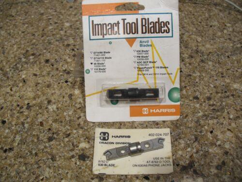 HARRIS IMPACT BLADES 66 10056-000 630 402024707 Telecom Premise Wire Definity