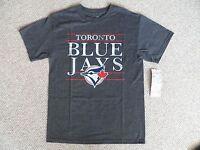 Medium Blue Jays Dk Grey Official Mlb Baseball T Shirt Strong Toronto Canada - official mlb merchandise - ebay.co.uk