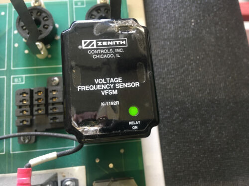 GE Zenith K-1192R Voltage Frequency Sensor VFSM 120 VAC Tested and Verified