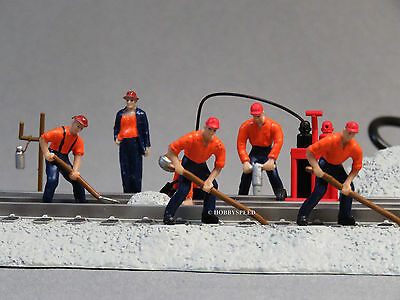 LIONEL PLUG-n-PLAY OPERATING TRACK GANG o gauge train plug&play men 6-82018 NEW