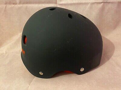 Triple Eight Boys Skateboarding Skating Helmet Black w/ Red