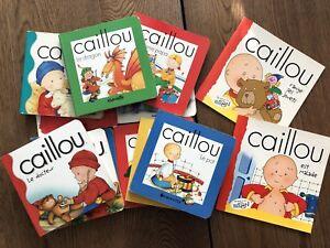 Lot de livres Caillou