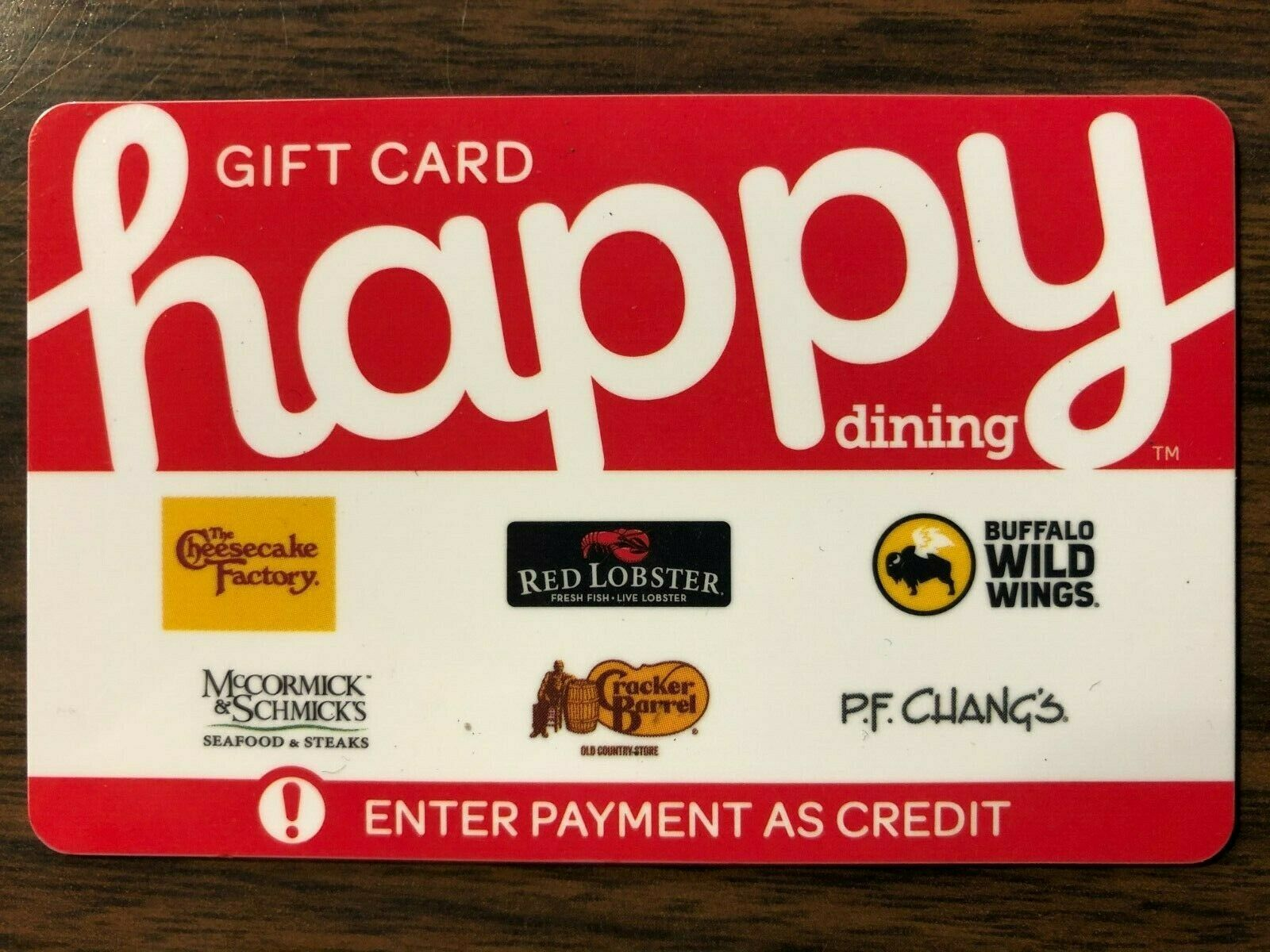 Happy Card Gift Card 20.00 Value. Free Shipping  - $18.50