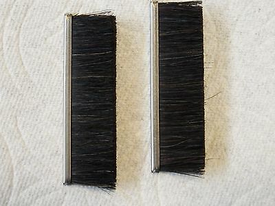 Neopost Hasler Sealer Brush Set Of 2 High Quality Horse Hair