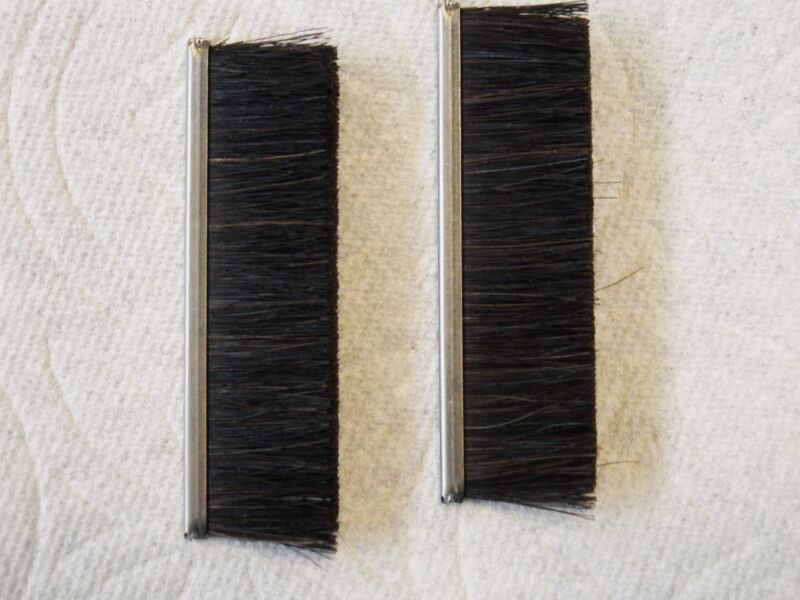 Neopost Hasler Sealer Brush Set of 2 High Quality Horse Hair