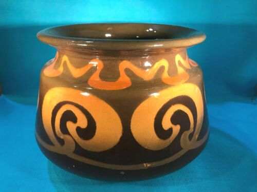 Antique J.B. Owens Ohio Pottery Art Nouveau Jardinere Planter Vase