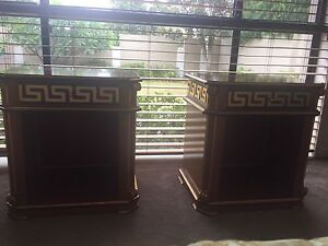 Versace Style Bedhead and Bedside Tables Handmade Benowa Gold Coast City Preview