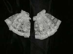 Lace-Cuffs-Short-Frilly-Victorian-Shirt-Ruffles-Ruffs-Georgian-Edwardian-2-Color