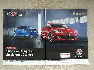 Vauxhall Astra VXR - Advertisement  -  2012