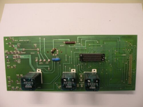 SORVALL F 50233-4 OPERATOR CONTROL BOARD FOR RC-5B SUPERSPEED CENTRIFUGE 50562-0