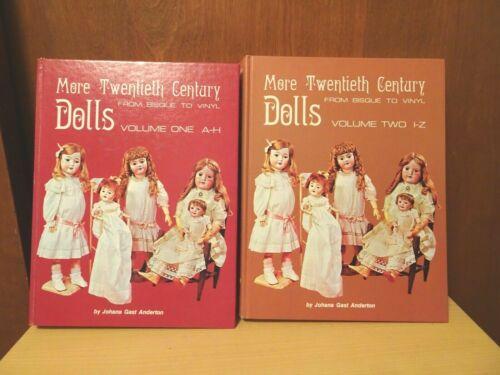 Set of 2 Volumes - More Twentieth Century Dolls From Bisque to Vinyl