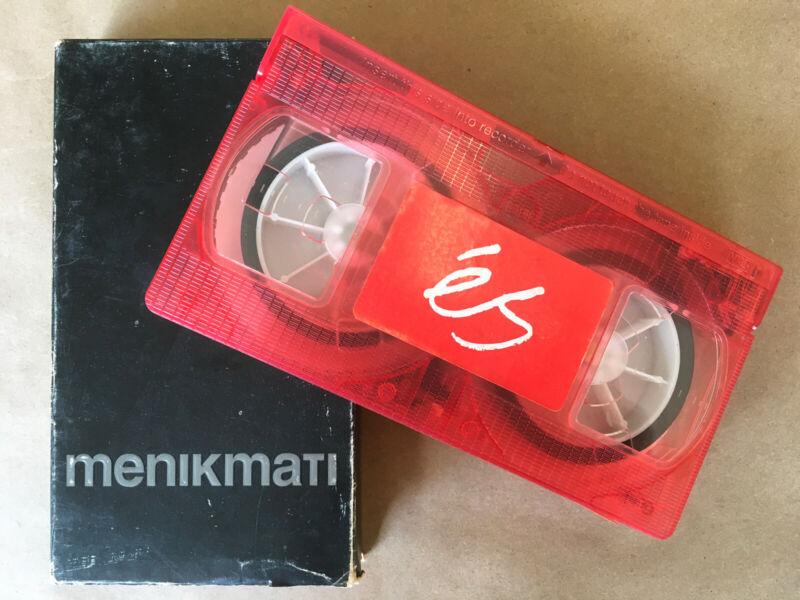 es Menikmati VHS Tape Video