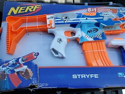 Nerf N-Strike Foam Blaster Toy Gun Elite Drop Grip BattleCamo Series Stryfe Kids