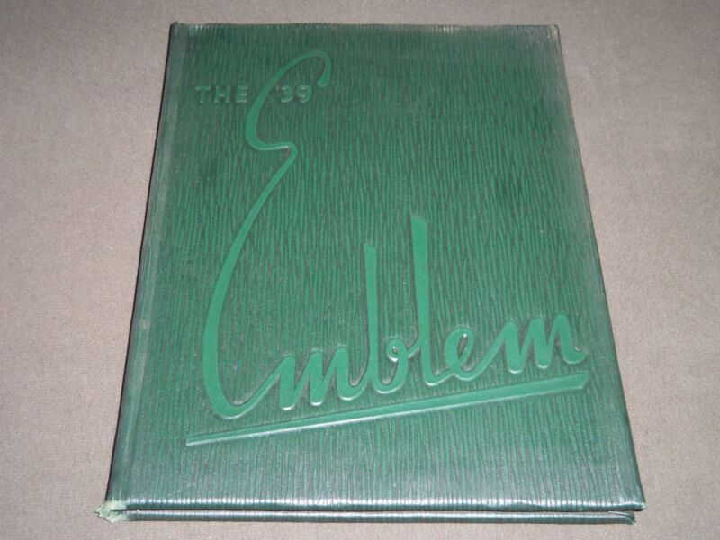 1939 THE EMBLEM CHICAGO TEACHERS COLLEGE YEARBOOK - CHICAGO ILLINOIS - YB 1029