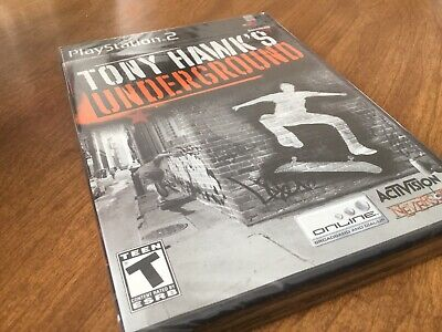 PS2 Tony Hawk Underground Game Factory Sealed Brand New .