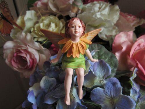 Cicely Mary Barker MARIGOLD Flower Fairy Ornament Figurine RETIRED!  #86979