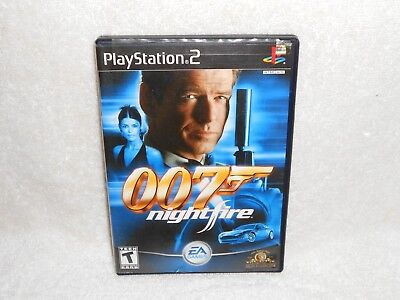007: NightFire (Sony PlayStation 2, 2002) Complete With Manual