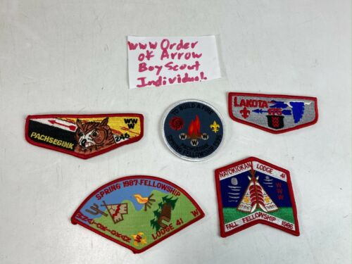 """""""ORDER OF THE ARROW """" BOY SCOUT PATCHES VINTAGE BSA"""