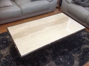 Travertine Coffee Table Doubleview Stirling Area Preview