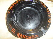 El Rancho Vegas Ashtray