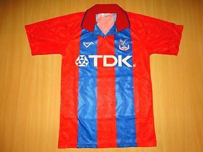 RARE CRYSTAL PALACE 1993 1994 shirt jersey HOME camiseta Football Shirt Jersey image
