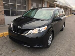 2011 Toyota Sienna LE with extra new winter tires