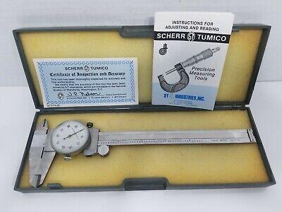 Scherr Tumico Dial Caliper 0-6
