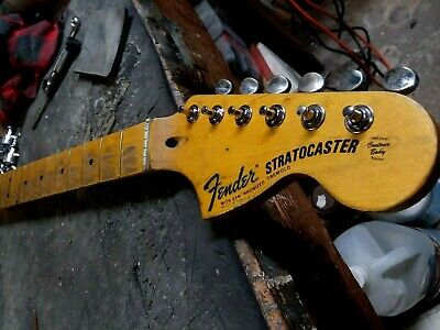 Mr.G Customs Relic Strat neck Aged finish Nitro Stratocaster 69 70's style maple
