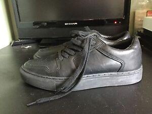 Black leather shoes Old Toongabbie Parramatta Area Preview