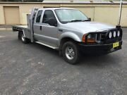2001 FORD F250 XL Manual 4x2 Super Cab Turbo Diesel Rego 06/2019 Bowral Bowral Area Preview