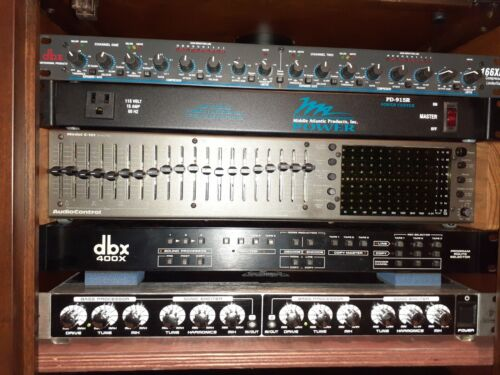 AudioControl C-101 Series II Equalizer with Org Owners Manual