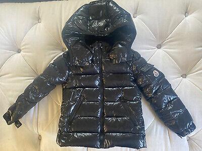 Authentic Moncler Kids Black Puffer Jacket 4Y