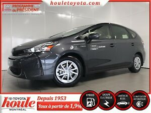 2017 Toyota Prius V Hatchback, MAGS, CRUISE, CAMÉRA RECUL, A/C