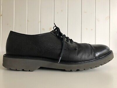 House of Hounds Mens Taggart Shoes Black Leather Size UK 10