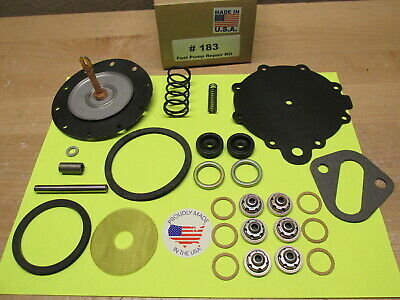 1949 TO 1954 OLDSMOBILE SUPER 88 MODERN MADE FUEL PUMP REBUILDING KIT AC#9294  ()