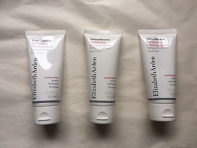 3 Elizabeth Arden Visible Difference Skin Balancing Exfoliating Cleanser 1 7 Oz