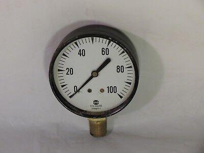 Vintage Small 2 34 Round Us Gauge Air Water Pressure Boiler Steampunk Art