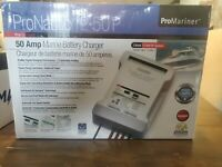 Promariner ProNautic 12/ 50P Automatic Battery Charger. 3 Outputs 50 Amps.