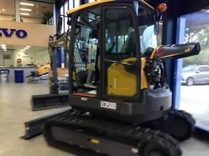 Volvo ECR50D Excavator Smeaton Grange Camden Area Preview