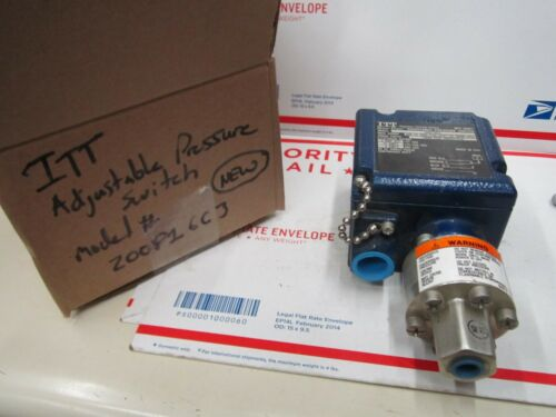 ITT Industries 200P16C3 500-3000 PSI Adjustable Pressure Switch, F1