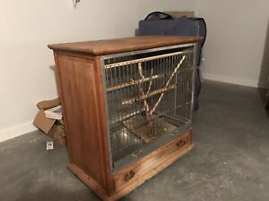 Cage animaux exotique